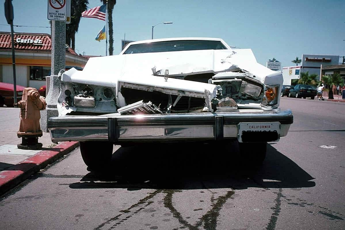 Car Damage front