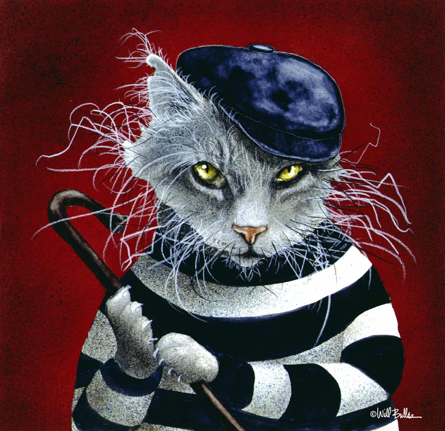 The Cat Burgler Used With Permission