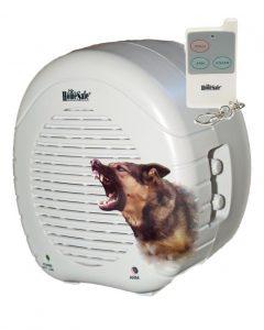 ForSecuritySake Barking Dog Alarm With Dog Head Brushed