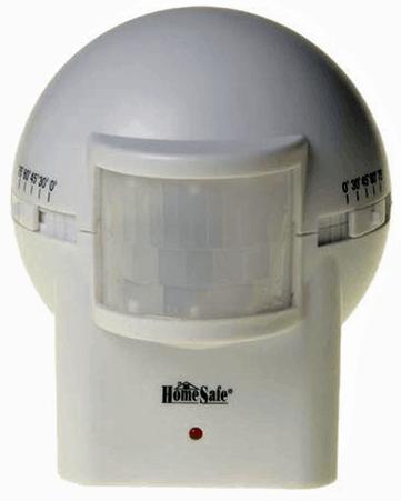 HomeSafe Outdoor Wireless Adjustable Motion Sensor