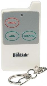 HomeSafe Remote Control In Barking Dog Alarm Set Up Page