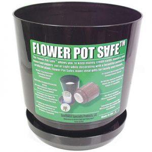 Flowerpot Safe