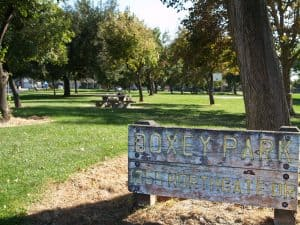 Doxy Park North Sign
