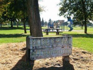 Park Sign Playground