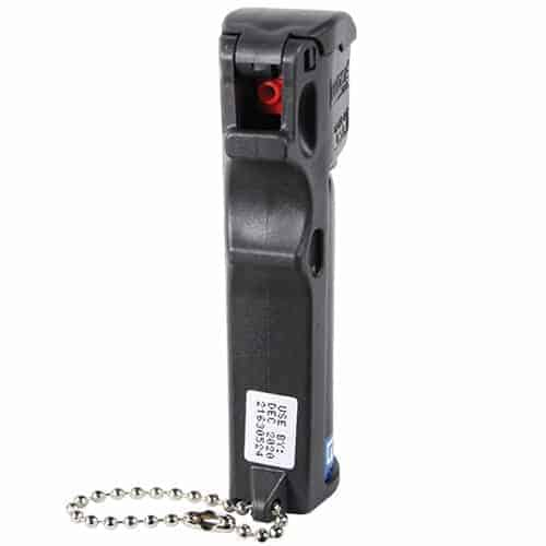 Mace? Triple Action Personal Pepper Spray Left Side Front