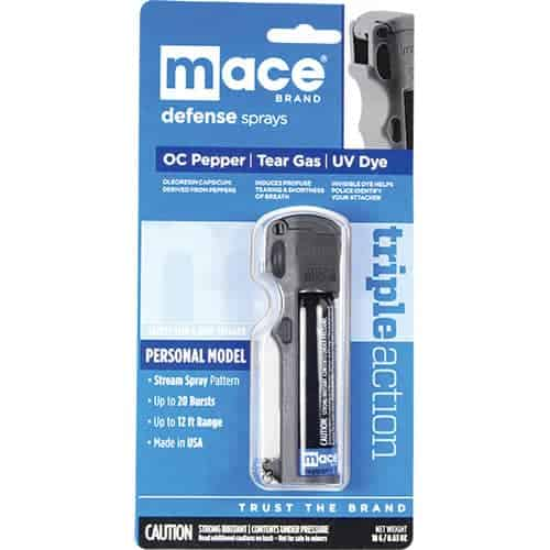 Mace? Triple Action Personal Pepper Spray Retail Package