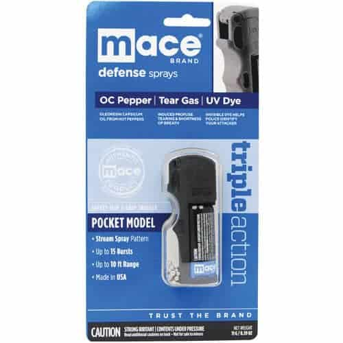 Mace® Pocket Model Triple Action Left Retail Package