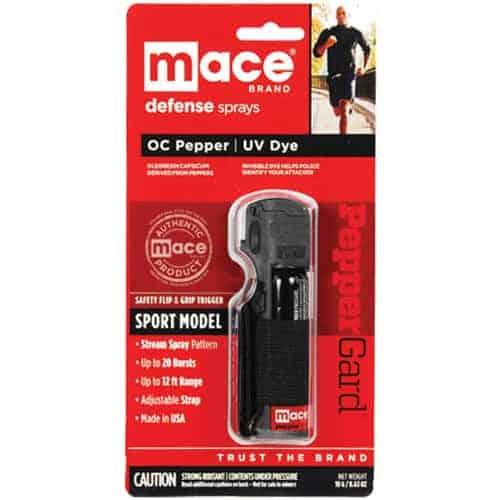 Mace® Pepper Spray Jogger – Black Package