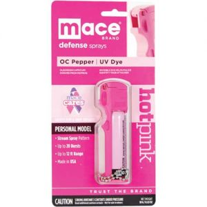 Mace® Personal Model Hot Pink 10% Pepper Spray Package