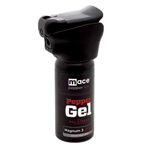 Mace® Pepper Gel Night Defender MK-III With Light Front Side