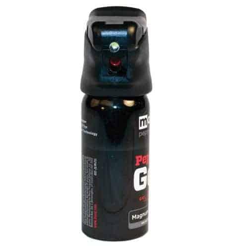 Mace® Pepper Gel Night Defender MK-III With Light Front