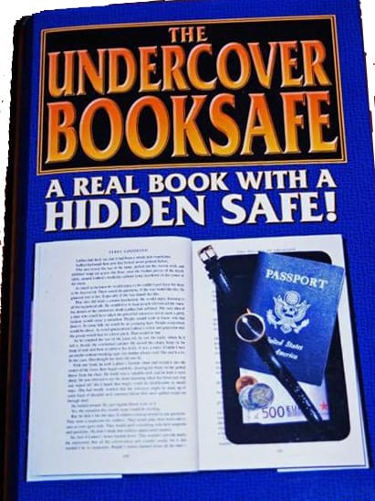 Real Book Diversion Safe Retail Cover ForSecuritySake