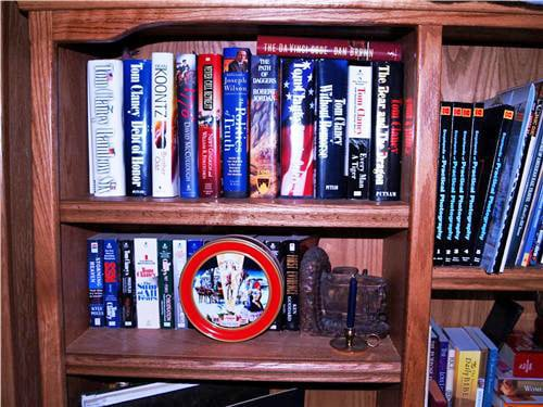Two Book Diversion Safes On Book Shelf ForSecuritySake