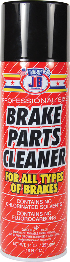 Brake Parts Cleaner Diversion Safe Front