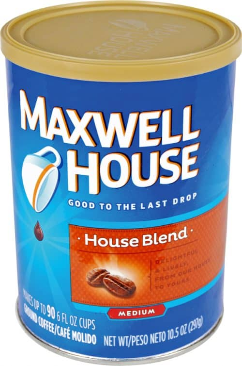 Maxwell House Coffee Diversion Safe Group Front
