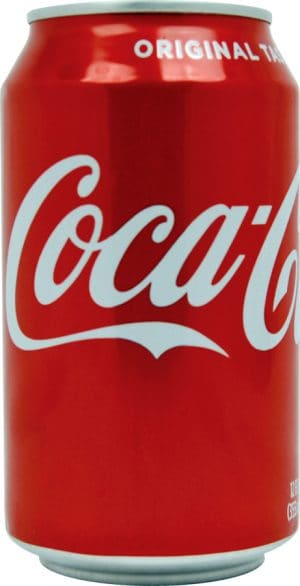 Coke Cola Can Diversion Safe Front