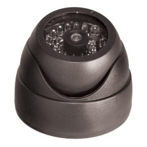 Dummy Dome Camera with LED and IR Sensor Grey Front Tilt Up