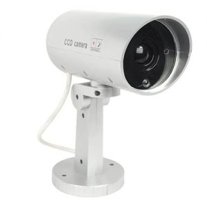 Dummy Camera With Flashing Red LED Light Side To Front