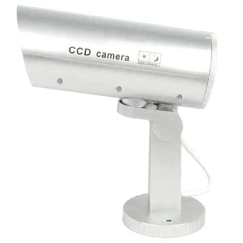 Dummy Camera With Flashing Red LED Light Side
