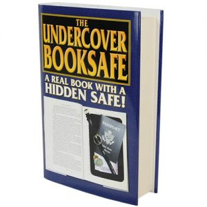 Real Book Diversion Safe With Removable Retail Sales Sleeve On End