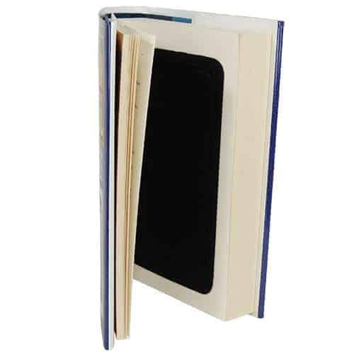 Real Book Diversion Safe Showing Pages And Safe
