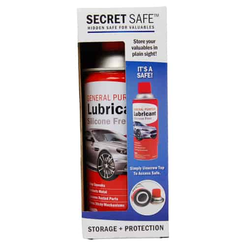 Lubricant Diversion Safe Package Front