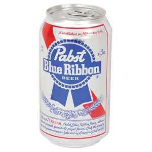 Pabst Blue Ribbon Beer Can Safe Front