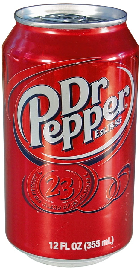 Dr Pepper Can Diversion Safe Front