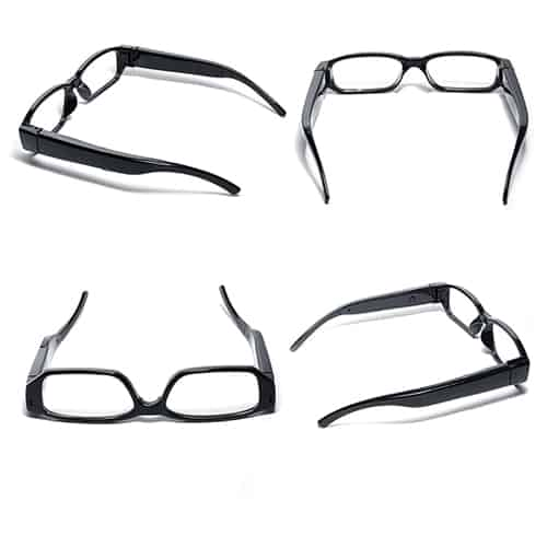 Eye glasses with Hidden Camera Four Sides