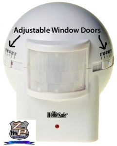 Outdoor Wireless Home Security Motion Sensor For Barking Dog Alarm And Wireless Siren Door Feature
