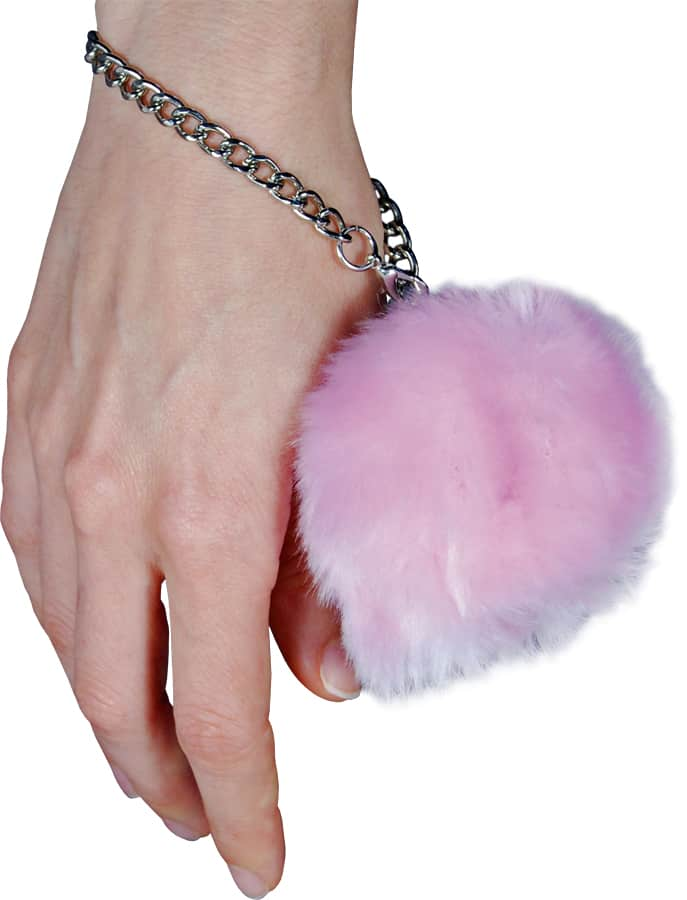 Fur Ball Alarm Pink On Wrist