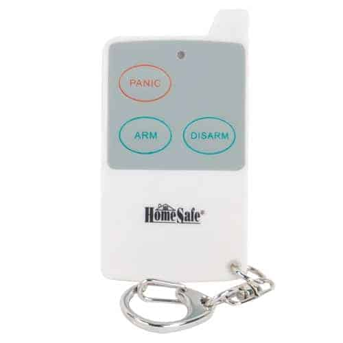 Remote Control For Barking Dog Alarm & Outdoor Siren Key Chain In Front