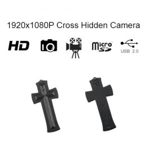 Cross Hidden HD Camera with built in DVR with Info