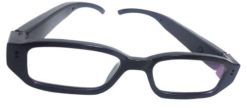 Eye Glasses HD Hidden Camera with DVR Front