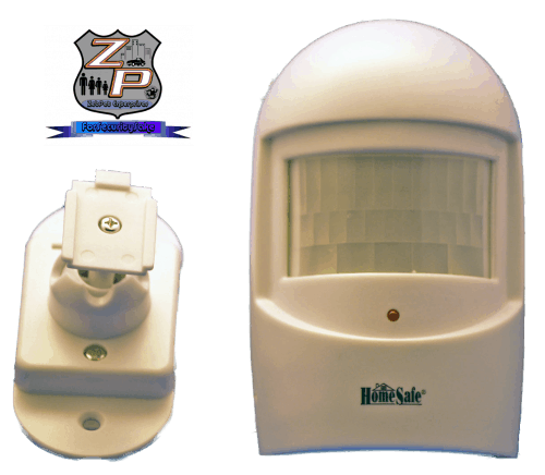 Wireless Motion Sensor For Barking Dog Alarm and Wireless Siren With Mount Hardware