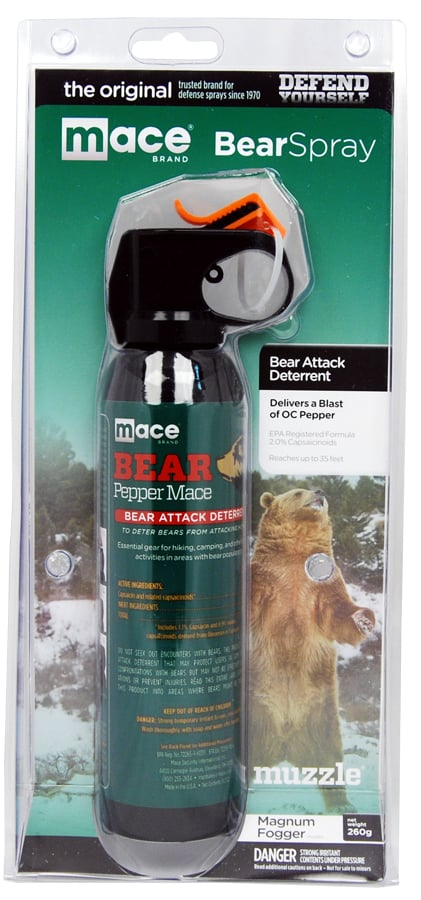 Mace Bear Spray Left Side Package