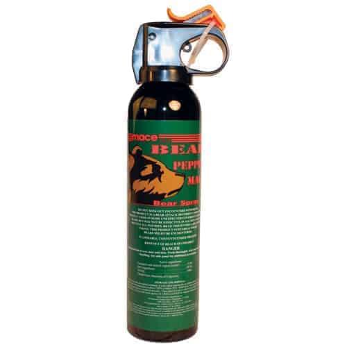 Mace Bear Spray Left Side
