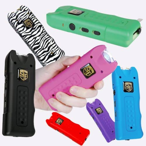 Collage Of MultiGuard Stun Gun Colors Available