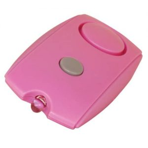 Pink Personal Alarm With Flashlight