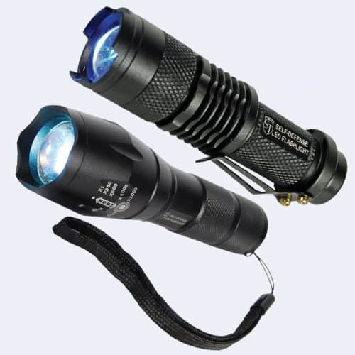 Rechargable Zoomable 500 Lunen LED Flashliht Group