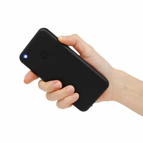 Cell Phone Stun Gun Rechargeable Back Light On