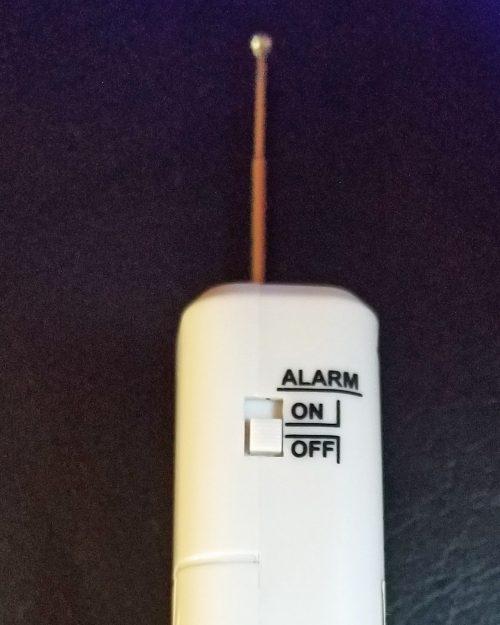 Door Window Vibration Sensor For Barking Dog Alarm and Wireless Siren Side Alarm Switch