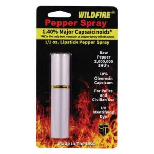 WildFire™ 1.4% MC Lipstick Pepper Spray – Red Retail Package