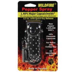 Wildfire™ 1.4% MC 1/2 oz With Black Rhinestone Holster Retail Package
