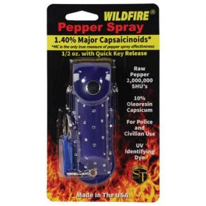 Wildfire™ 1.4% MC 1/2 oz With Blue Rhinestone Holster Retail Package