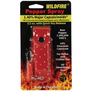 Wildfire™ 1.4% MC 1/2 oz With Red Rhinestone Holster Retail Package