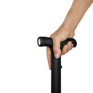 Zap Walking Cane Stun Gun In Hand