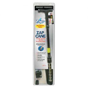 Zap Walking Cane Stun Gun Retail Package