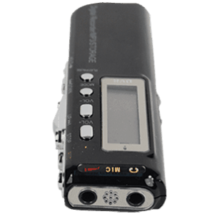 Digital Recorder with Control Pane