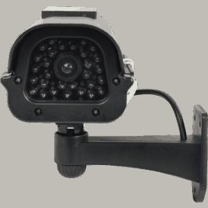 Solar Dummy Camera Black